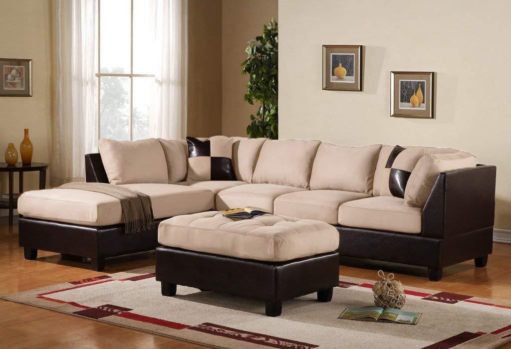 Microfibre share sofa amazon.com: suitcase andrea milano 3-piece microfiber share sofa made of synthetic leather with TFXFPHK