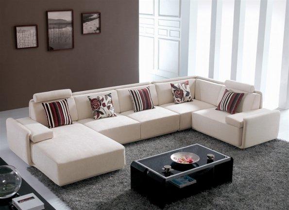 Microfiber Share Sofa (Beautiful Modern Microfiber Share Sofas Gallery # 3) OPPTOAC