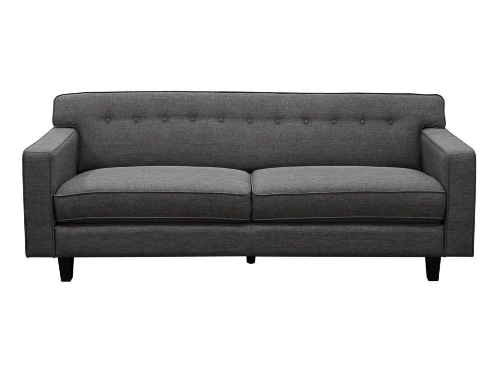 Mid century convertible sofa fabric loveseat twin sofa bed gus modern RUSGJCE