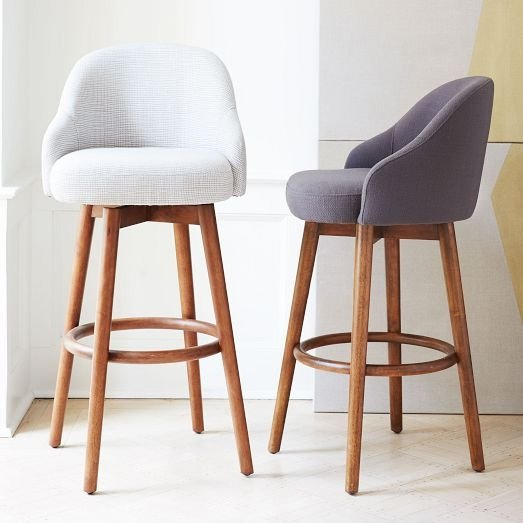 Mid-century modern bar stools MILGEXF