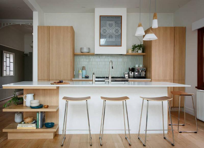Mid-century design ideas for modern small kitchens - freshome.com GNLVMHL