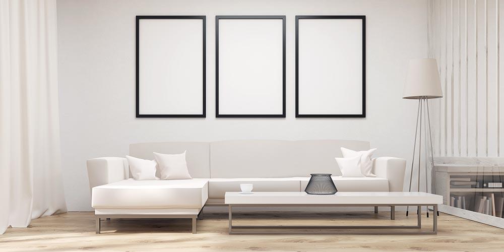 minimalist living room LFGZNUK