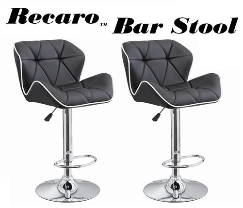 modern adjustable bar stool recaro modern adjustable bar stool - set of 2 GULYKLQ
