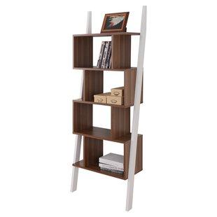contemporary bookcase bostic ladder bookcase BWQKPBO