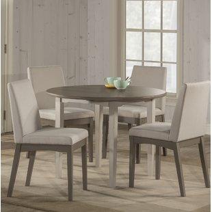 modern dining room sets kinsey modern 5-piece drop leaf dining room set XPLYXHC