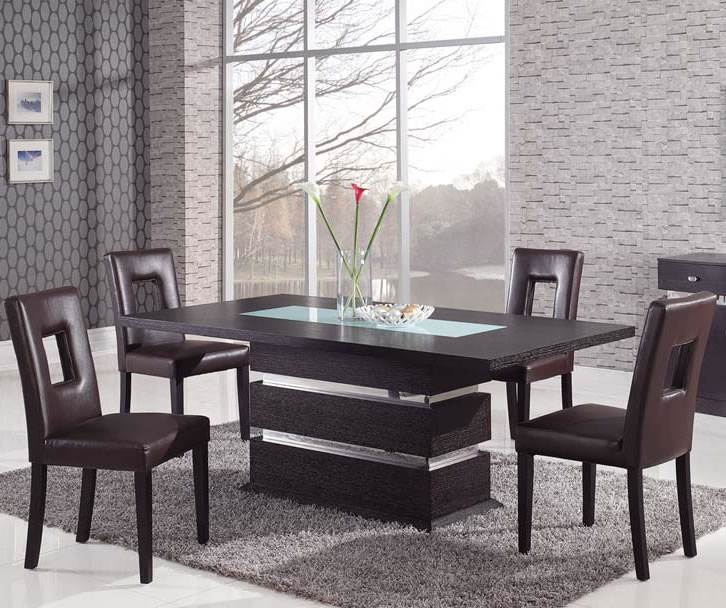 modern dining room sets modern dining room sets from global Furniture chicago ... QAIBRZF