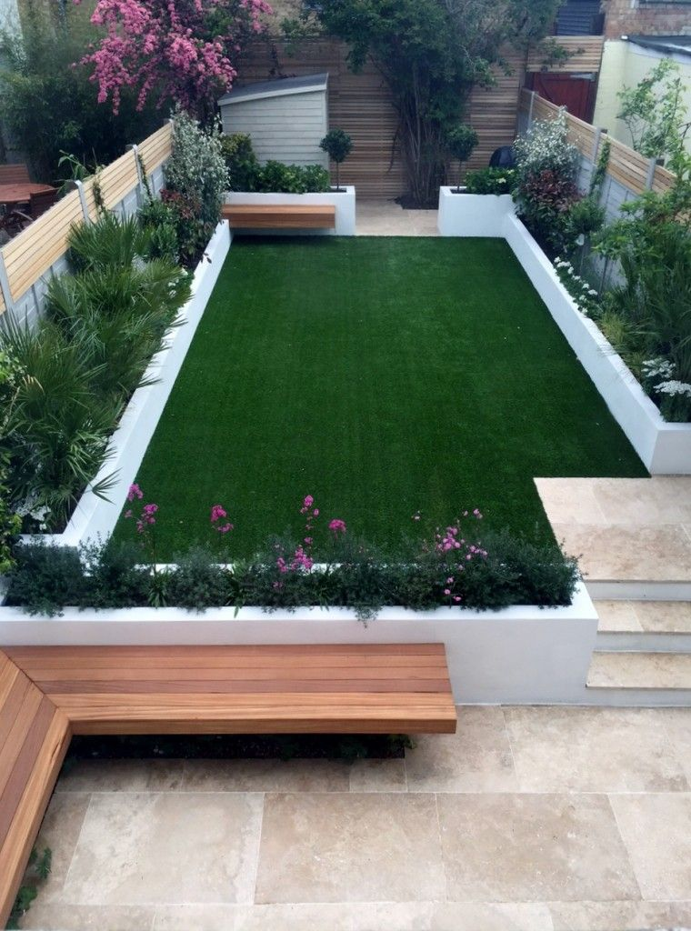 modern garden design ideas fulham chelsea battersea clapham dulwich london UFAHQNT