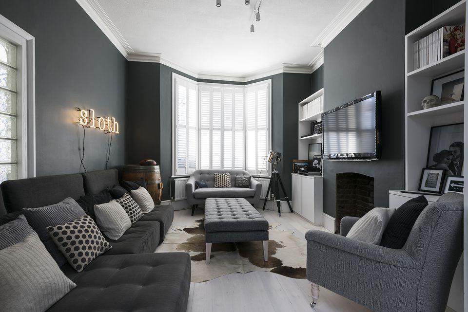 modern gray living room ideas ZCDNAAP