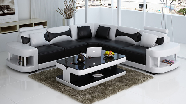 modern Italian corner sofa set made of wood design 0413-f3001 TEPCKOJ