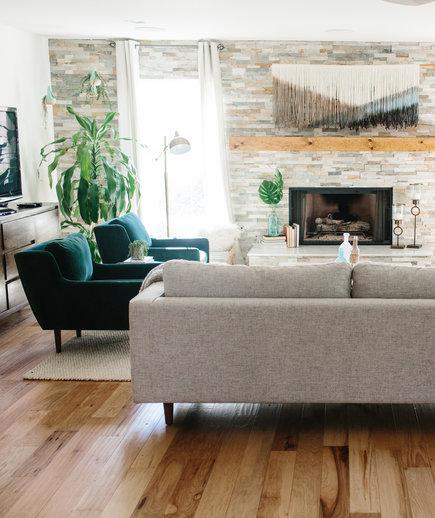 modern living room design ideas boho living room CLTLFAC
