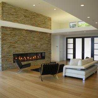 modern living room design ideas living room - modern living room idea made of bamboo flooring in san francisco LGAUCPX