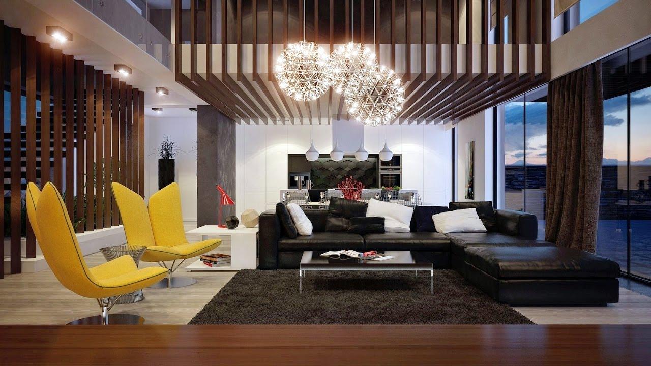 modern living room design ideas with stylish furniture SPJYAIG