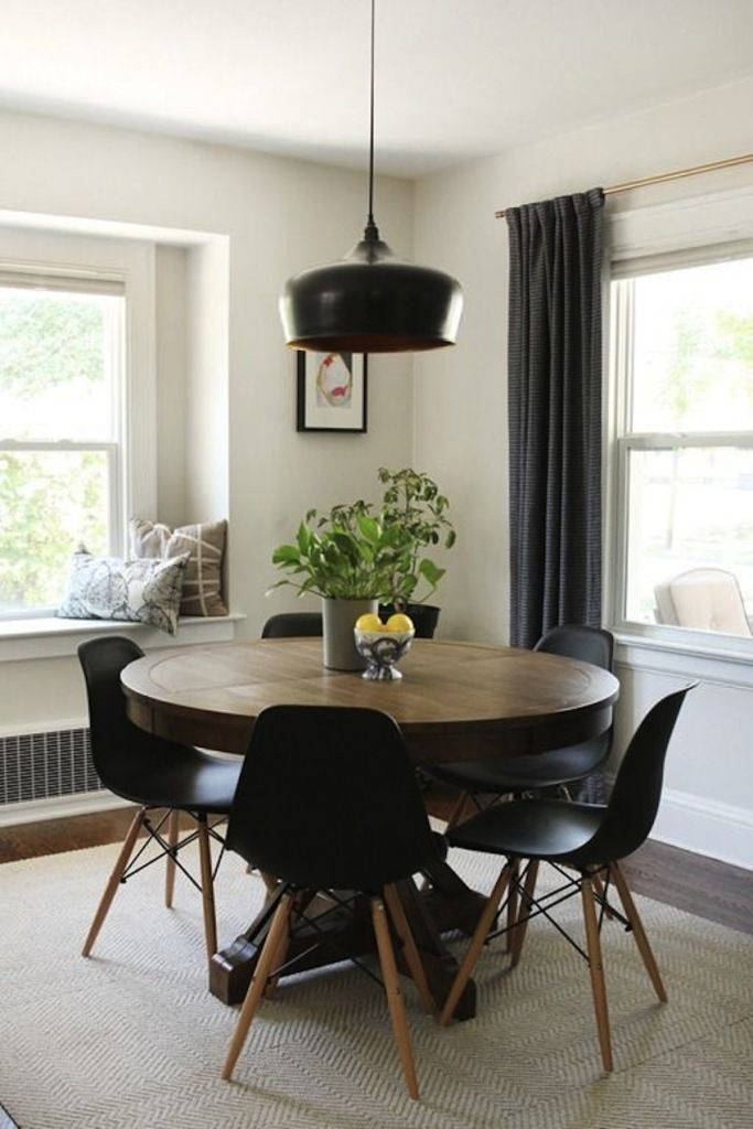 modern round dining table extendable MSLIZCP