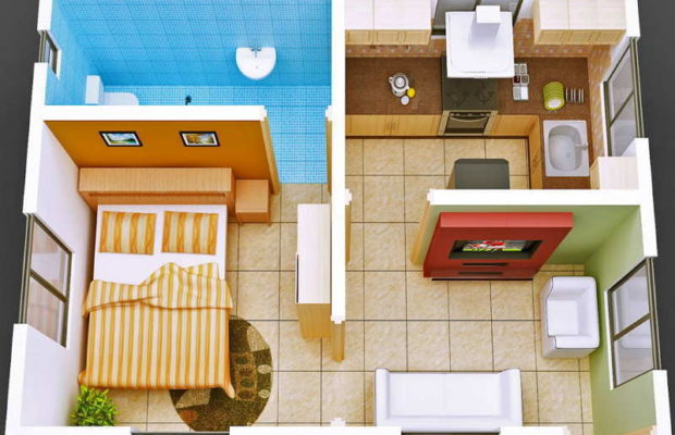 modern ideas for the interior decoration of tiny houses FFCLQGV