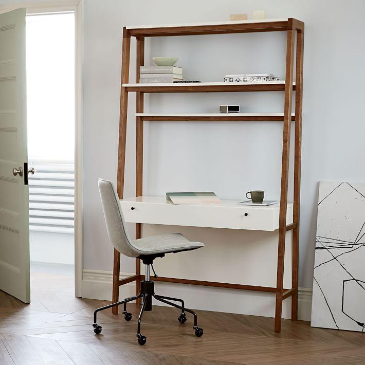 modern wall desk    West elm XFPXFKK