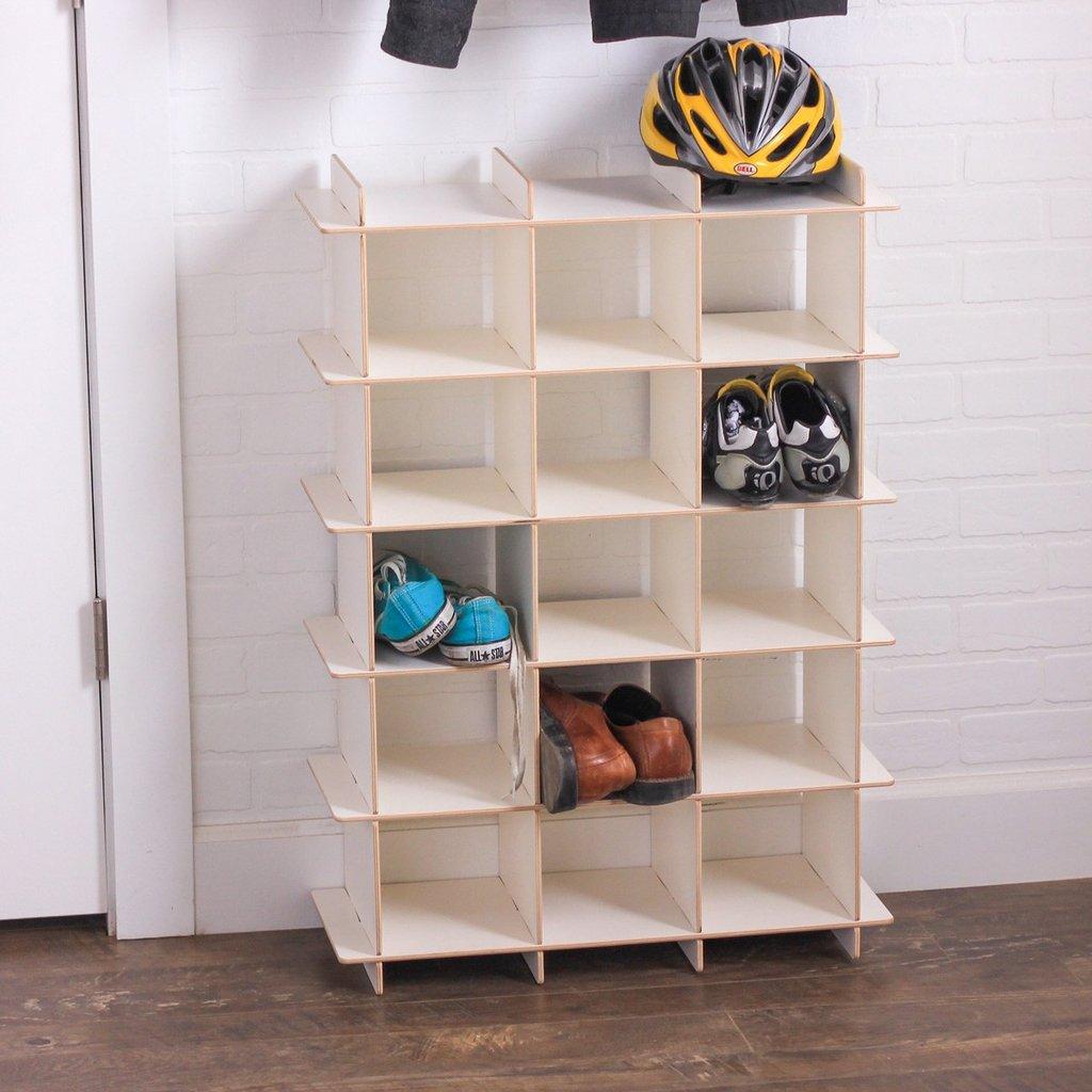 modern wooden shoe rack EJUIFGV