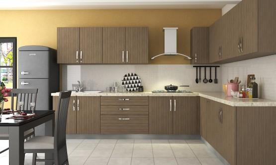 Modular kitchen design Albatros L-shaped kitchen CGNNEEF