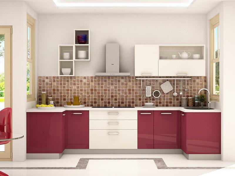 modular kitchen design dremlin u-shaped modular kitchen designs GFOVARI