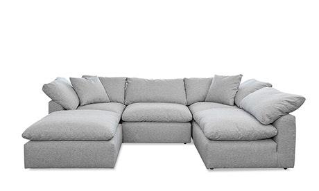 Bryant modular sofa U-shaped sofa bumper section (5 pieces) UDVABWW