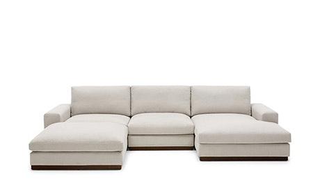 modular sofa brings modular U-shaped sofa bumper cut OPGJWIC
