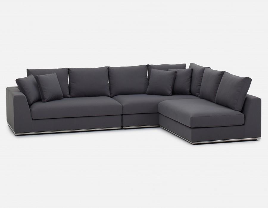 modular sofa horizon - modular sectional sofa - gray XBVQVMJ