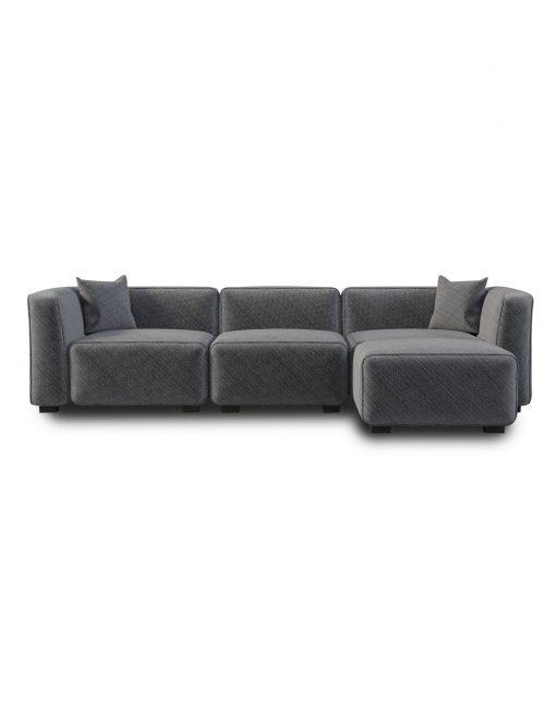 Modular sofa soft-cube-comfy-modular-add-on sofa-in-gray FPWGQXG