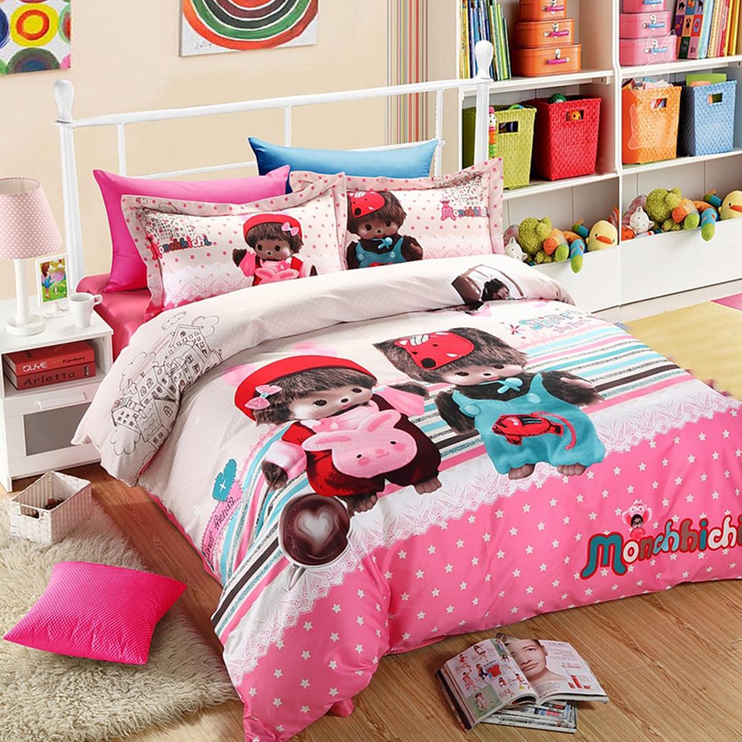 monchichi children's bed linen DUTEYHU