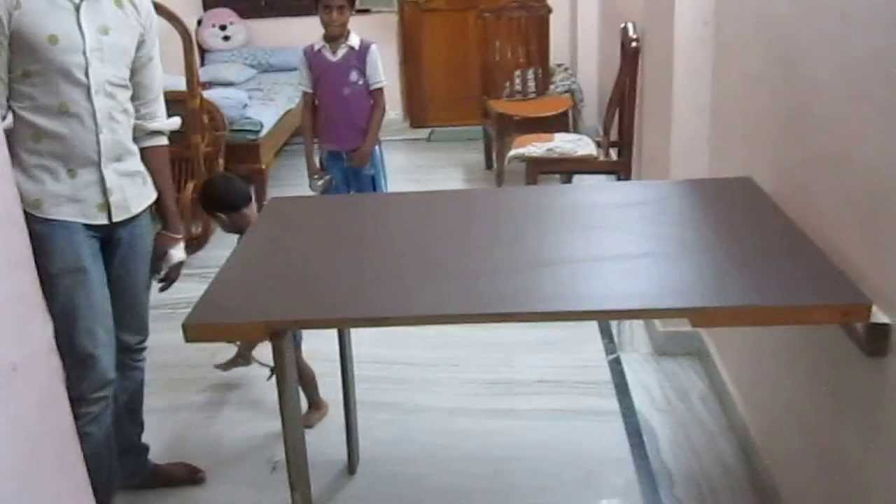 my new foldable dining table - youtube JZVQDGY
