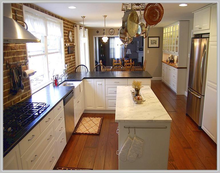 Narrow Kitchen Island Ideas
