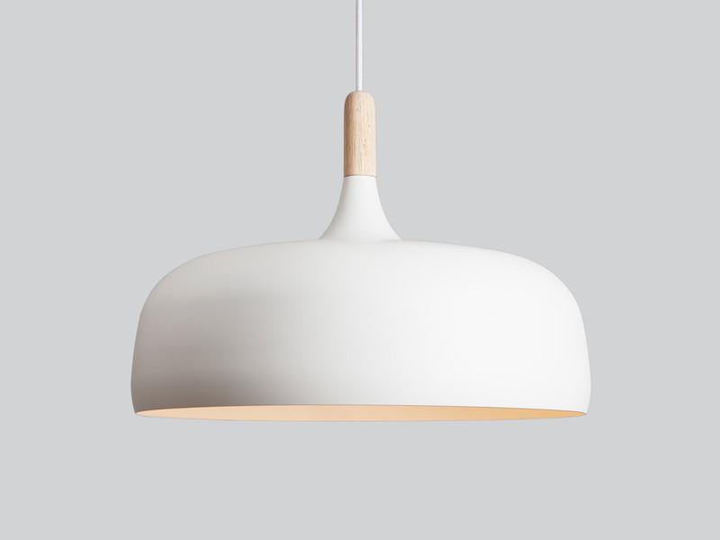 Northern Acorn Pendant Light - White GKWTCXB