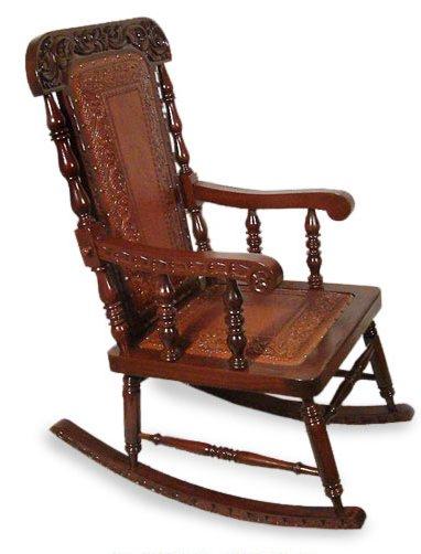 novica nobility rocking chair & reviews |  Wayfair KOQEUSF