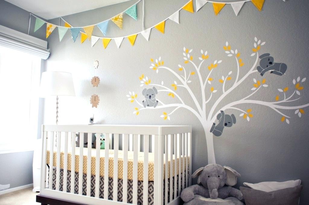 Children's room decoration gray ... ZYMXUYH