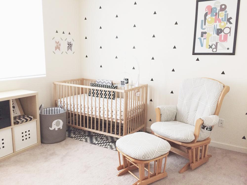 Children's room decoration inkbyjeng_nursery_decor_black_and_white_1.jpg AMODZUY