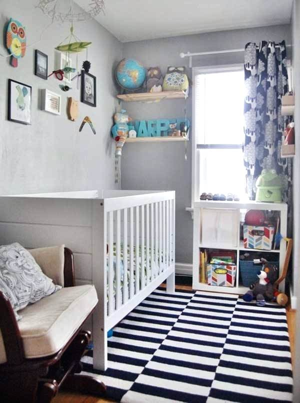 Nursery ideas for small spaces baby nursery ideas room decoration for small space.  Children's room ideas room ECVIZDP