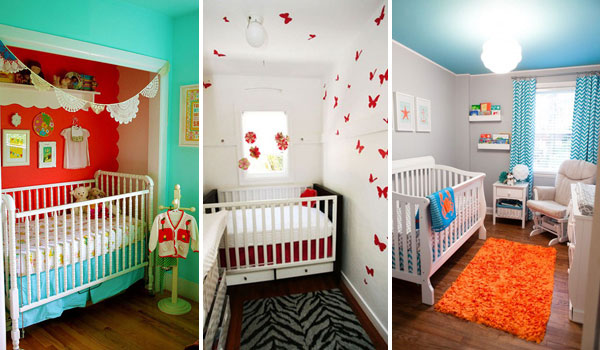 nursery ideas for small rooms