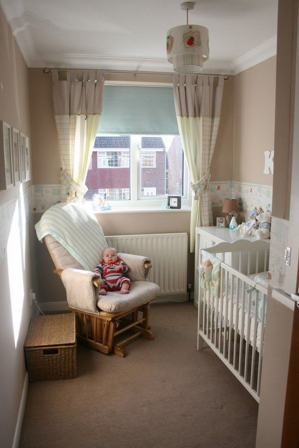 Children's room ideas for small spaces ... unique apartment designs small baby room ideas white bedding near TEOSQFB
