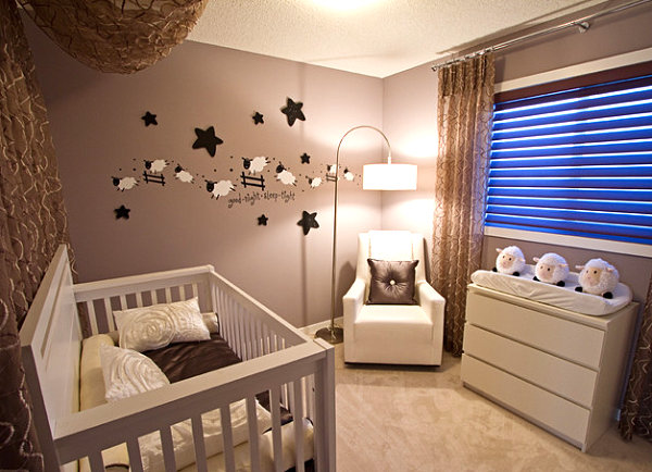 Show children's room ideas for small rooms in the gallery modern children's room with sheep motif WUHBKVB