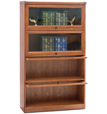 Barrister oak bookcase HYWWZPY