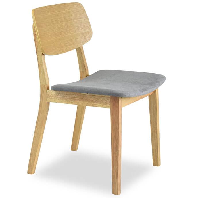 oak dining room chairs Baldwin Mid-Century Modern dining room chair oak set of 2 ICZQUKT