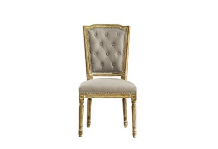 Oak dining chairs Baxton Studio Estelle Shabby Chic rustic French country oak weathered VSHDXIT