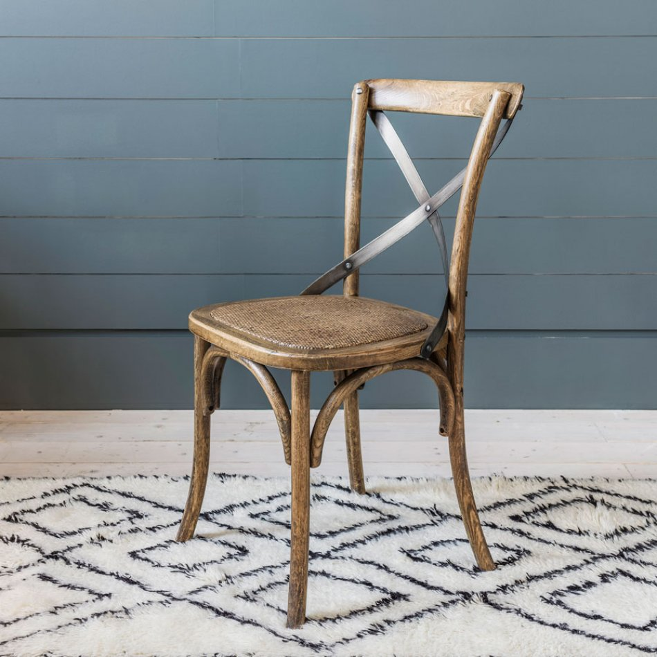 Dining room chairs made of oak Bistro dining room chair made of oak SAMKTNV