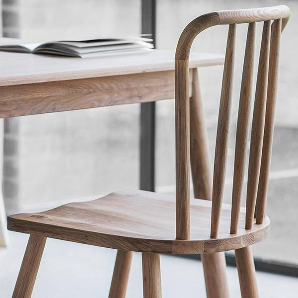 Dining room chairs made of oak wood furniture made of oak wood |  modern dining chairs |  Fashionable living IQEBNUI