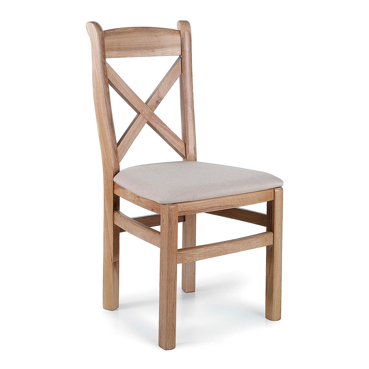 Dining room chairs made of oak Tuscany dining room chair made of oak with cross back IJSGAXC