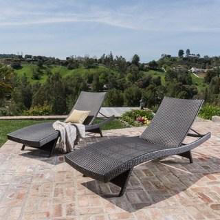 oliver u0026 james baishi outdoor lounge chair (set of ... QGULDJI