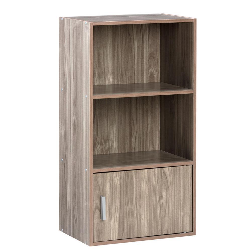 onespace small bookcase made of walnut wood PFQARWX