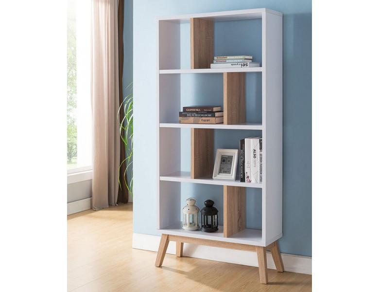 Oslo mid-century modern bookcase NTRQHTT