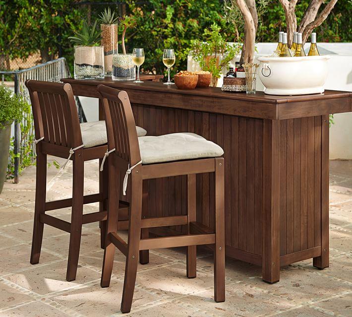 Outdoor bar furniture Chatham Ultimate Bar |  Pottery Barn CVNGCRJ
