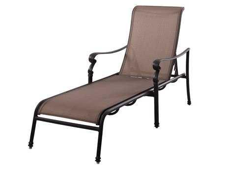 Outdoor Chaise Longue Loae Outdoor Living Standard Monterey Cast Aluminum Antique Bronze Chaise Longue PAYUCYZ