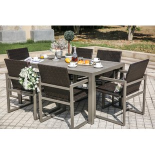 Outdoor dining sets 7-piece dining set UJUAPTC