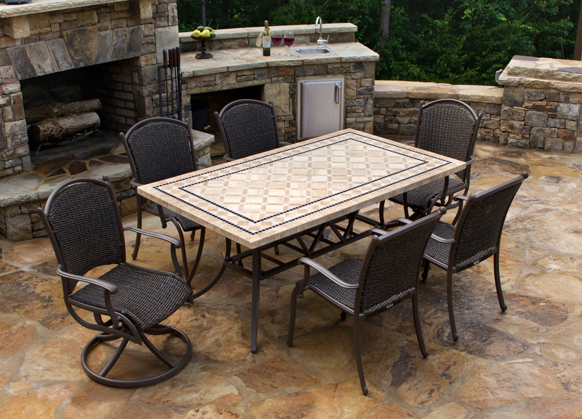 Outdoor dining sets alternative views: ZEJTIPF